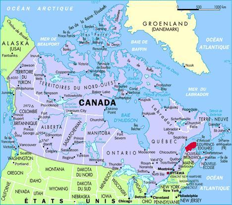 Carte Canada Gaspesie.Road Trip En Gaspesie 1 4